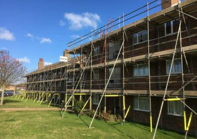Eastbourne-Council-Scaffolding-Projects